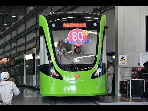 Quick charge! Supercapacitor tram unveiled in China