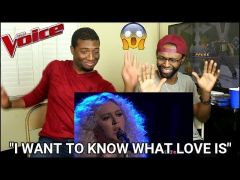 """The Voice 2017 Chloe Kohanski - Semifinals: """"I Want to Know What Love Is"""" (REACTION)"""