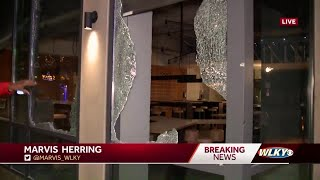Night 2 of Louisville protests: Riots, destruction, looting across the city