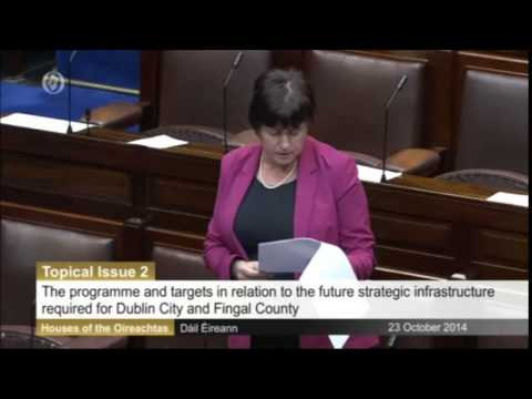 Tommy Broughan TD raises concerns regarding North Dublin Oil Pipeline
