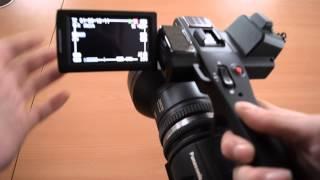 Панасонік АГ ас-90 відеокамера короткий посібник/мобільний