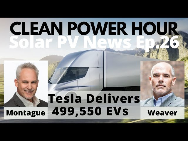 Tesla Delivers Half a Million Cars in 2020 | South Australia 100% Wind + Solar | Clean Power Hour