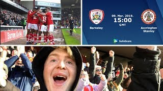 Barnsley 2 Accrington Stanley 0 | Another Win In The Bag! | Matchday Vlog#43