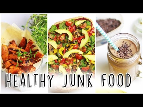 Healthy Junk Food! // Healthy Versions of Your Favorite Unhealthy Food!