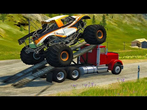 Thumbnail: BeamNg Drive High Speed Ramp Jumps #7
