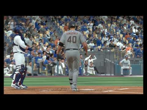 MLB The Show 17 Giants vs Dodgers (PS4) 60FPS