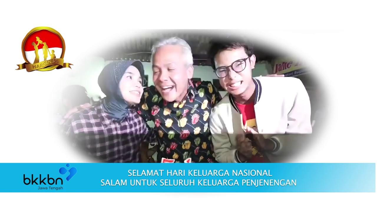 Selamat Hari Keluarga Nasional Ke 27 oleh Gubernur Jawa Tengah