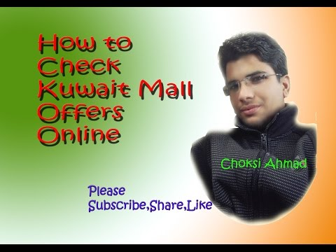 How to Check Kuwait Mall Offers Online