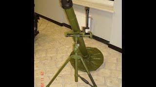 """Обзор Миномета 2Б14 """"Поднос"""" 82 мм (СССР) Опасное оружие войны!"""
