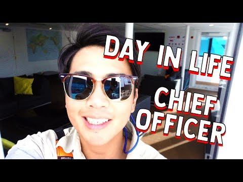 Day In The Life - Chief Officer on a Ship | ⚓ Life At Sea Ed
