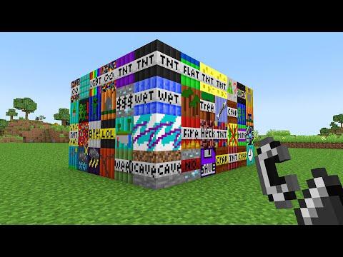 ICH HABE ALLE TNT AUF EINMAL GETESTET in Minecraft