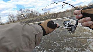 Спиннинг 58 см Незабываемые ощущения от рыбалки и вываживания Каково таким ловить