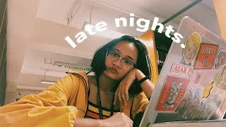 🌙 late library nights [uni vlog.10] 🕰 thumbnail