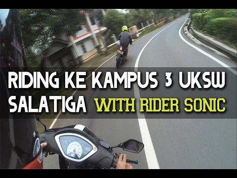 #8 - Riding Ke Kampus 3 UKSW Salatiga