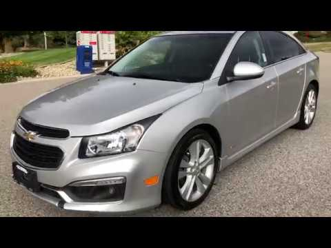 2015 Chevrolet Cruze LT Bluetooth, Back Up Camera, Heated Leather Manual Seats Sedan
