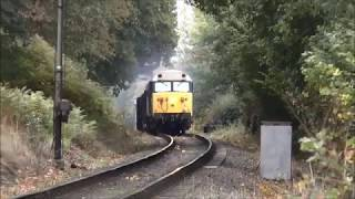 Class 50 SVR Gala; trackside, station and bridge clips