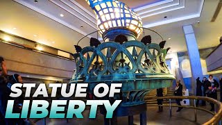 ⁴ᴷ Walking Tour of Statue of Liberty National Monument (Includes Visit to the Crown!)