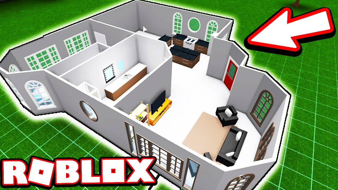 15 000 Starter House Build Welcome To Bloxburg Youtube