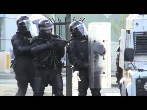 Ardoyne Riots 12th July 2011