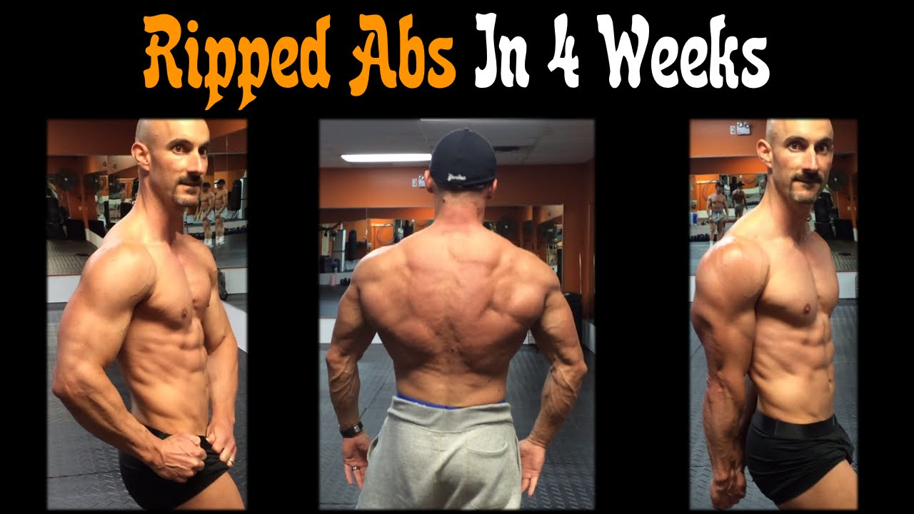Get Ripped Abs In 4 Weeks