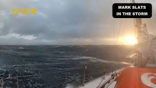 Mark Slats Storm video Golden Globe Race 2018-19
