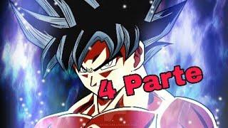 como desenhar Goku limit break passo a passo 4 parte.