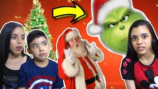 WE HELP THE GRINCH DESTROY CHRISTMAS!!! (ROBLOX)-#SóPorCausa