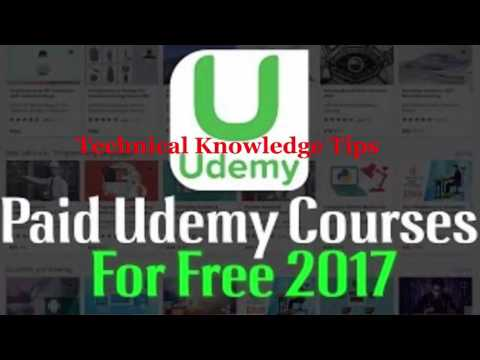 How To Get Udemy Paid Courses For Free [Working] 2017