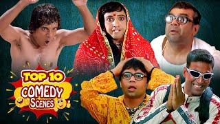 Top 10 de escenas de comedia | Phir Hera Pheri - Mujhse Shaadi Karogi - Aag - Golmaal Returns - Bienvenido