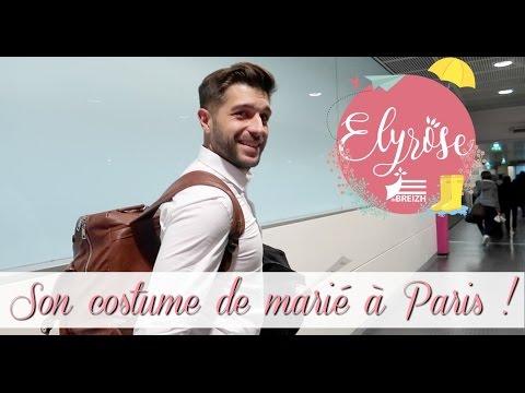 [ VLOG FAMILLE ] SON COSTUME DE MARIÉ A PARIS !