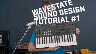 Korg Wavestate - Sound Design Tutorial 1
