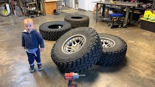 Hutchinson Beadlocks Jeep Wrangler assembly