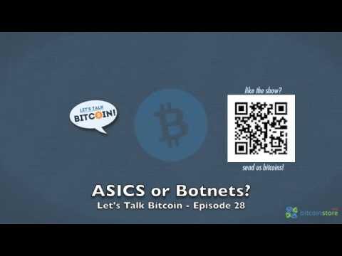 ASICS or Botnets?