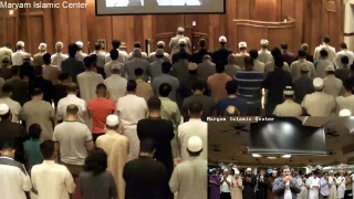 Taraweeh Prayers at Maryam Masjid