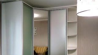 угловой шкаф-купе с распашными дверями (3 двери) и стол в детскую(Угловой шкаф с распашными дверями (угловой шкаф-купе, только от