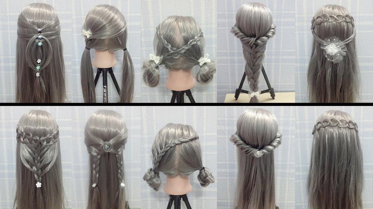 tóc đẹp 2018 – 10 kiểu tóc đẹp đơn giản đi chơi, đi tiệc làm trong 5 phút  ( P4 )   Tổng hợp kiến thức về tóc đẹp mới nhất