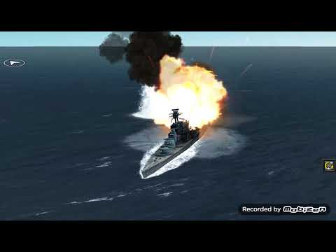 BISMARCK VS HMS HOOD (Atlantic fleet gameplay)