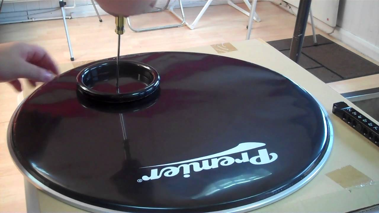 how to create a hole in the bass drum front head hd youtube. Black Bedroom Furniture Sets. Home Design Ideas