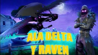 New Skin Raven and Delta Wing - FORTNITE