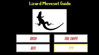 Lizard Moveset Guide