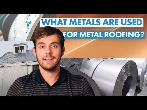 What Metals Are Used for Metal Roofing?