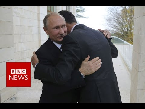Russia's Putin visits Syria airbase and orders start of pullout – BBC News