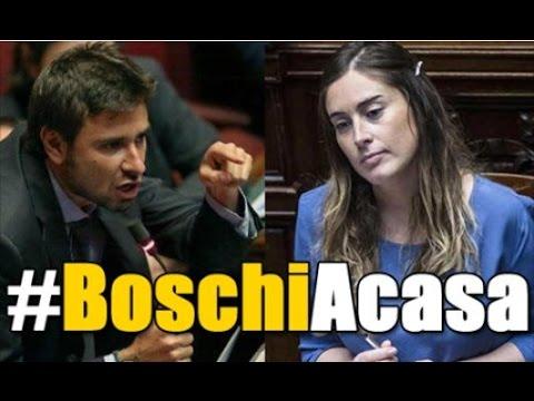 Di Battista - mozione di sfiducia M5S: #BoschiACasa