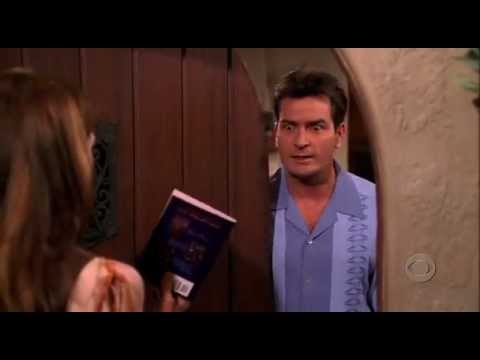 sc 1 st  YouTube & Alan Gets Hit By The Door - Two And A Half Men (Megan Fox) - YouTube