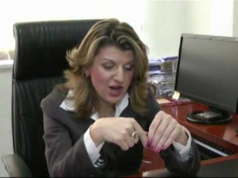 International Human Rights day 2011. Israel.  Vitaly Surkov.Attorney at law Svetlana Greenfield.