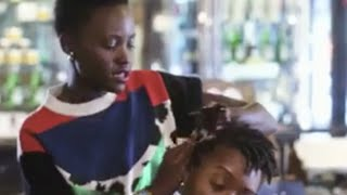 Lupita Nyong'o cornrows hair like a boss in new Vogue video