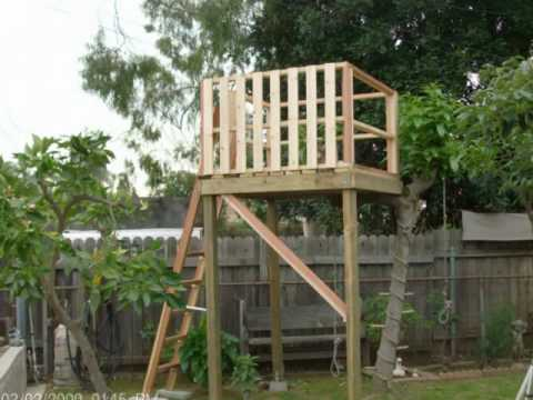 Elegant HOW TO MAKE A TREE HOUSE FOR YOUR BACK YARD   YouTube Part 31