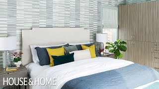 Before & After: A Drab Bedroom Gets A Dreamy Makeover