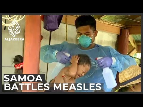 Unvaccinated to show red flags as Samoa battles measles epidemic
