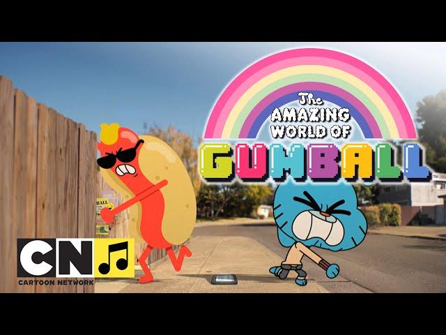 """""""Невероятният свят на Гъмбол"""" ♫ Кетчуп ♫ Cartoon Network"""